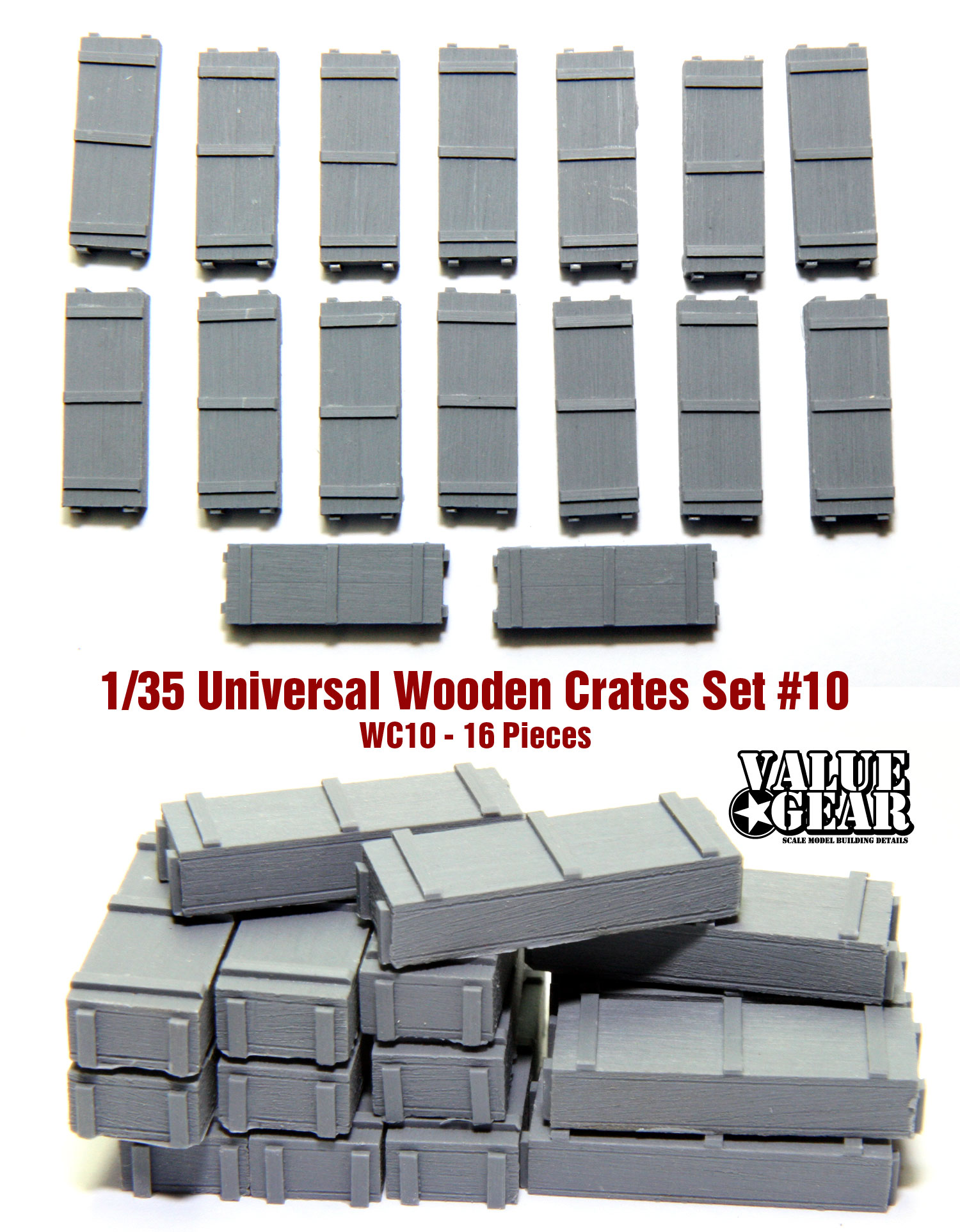 Resin Stowage CV2 - Value Gear Details 1//35 Coolers//Ice Chest 1980/'s-1990/'s